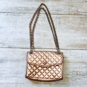 Rebecca Minkoff COPPER quilted chain convertible